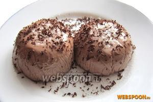 Подавайте, украсив шоколадной крошкой! Приятного аппетита!