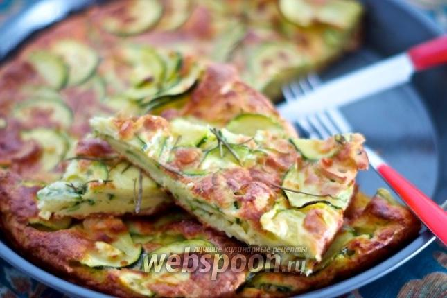 Фото Тосканский пирог с цукини