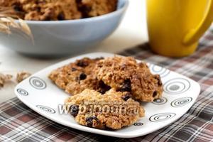 «Исчезающее» овсяное печенье