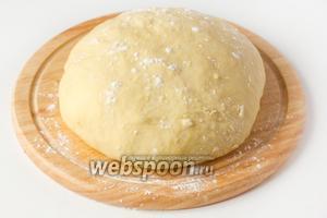 Для приготовления пирожков с ливером и рисом заранее приготовьте  Дрожжевое тесто для пирожков .