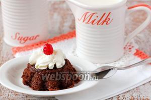 «Пьяные» шоколадно-ореховые кексы