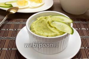 Соус из авокадо со сметаной