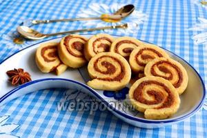 Печенье с ореховым пралине