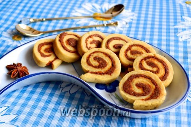 Фото Печенье с ореховым пралине