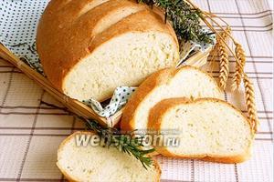 Хлеб с розмарином и мёдом