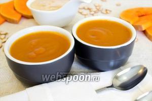 Суфле из тыквы с мёдом