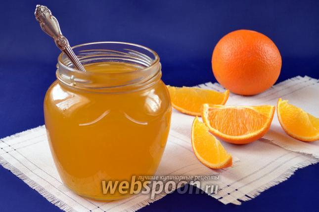 Фото Апельсиново-имбирный сироп