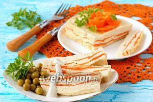 Куриное суфле с морковью в микроволновке