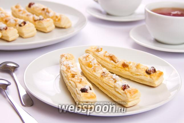 Фото Фруктово-ореховые палочки