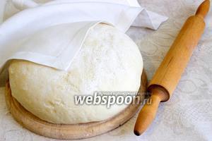 Несладкое дрожжевое тесто на сыворотке