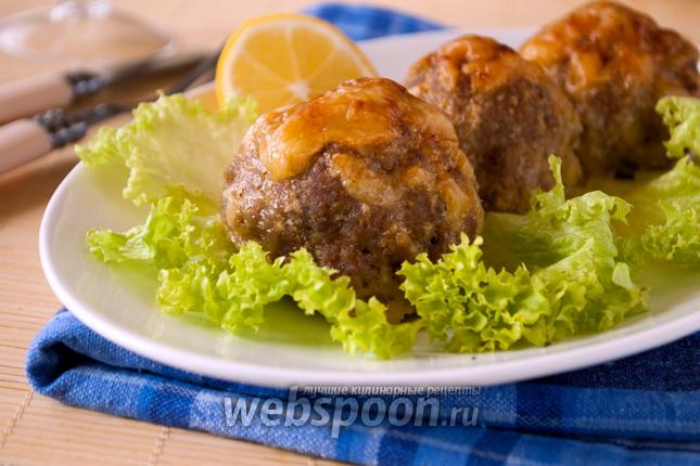 Фото Биточки из телятины с сыром