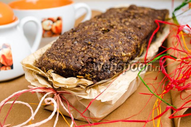 Фото Сметанный кекс с шоколадом