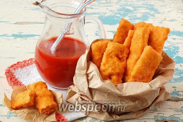Фото Постное печенье на томатном соке