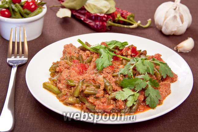 Фото Фарш с овощами