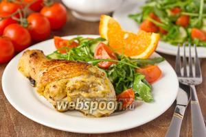 Курица в цитрусово-горчичном маринаде