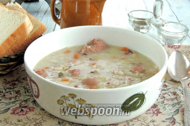 Фото Бюнднерский перловый суп