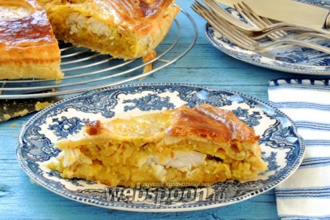 Фото Рыбный пирог