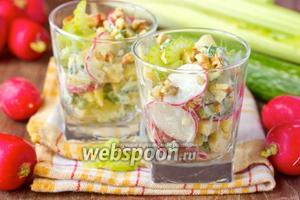 Овощной салат «Весенний»