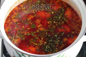 В готовый суп можно добавить любую зелень. Подают суп со сметаной. Аппетитный чесночный аромат свекольника, его нежный сладковатый вкус, сочные кнели не оставят никого равнодушным! Обязательно попробуйте!