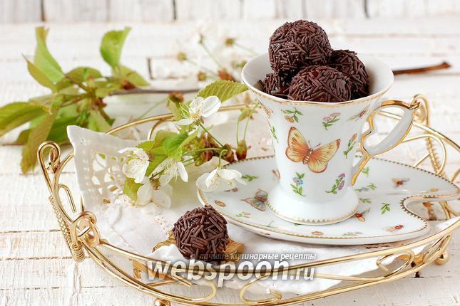 Фото Шоколадные конфеты «Бригадейро»