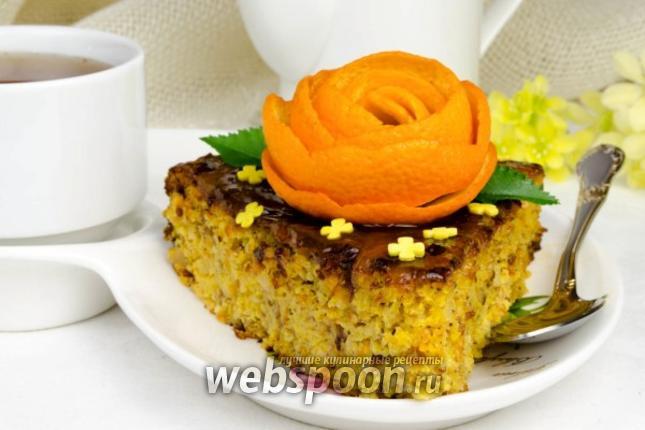 Фото Пасхальный апельсиновый торт