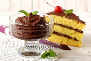 Шоколадный крем из шоколада