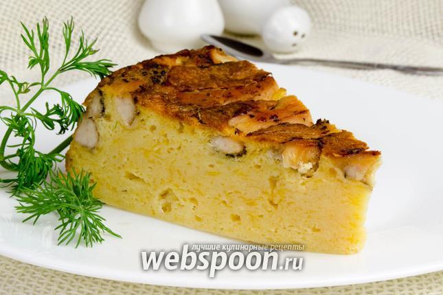 Фото Сырный пирог в мультиварке