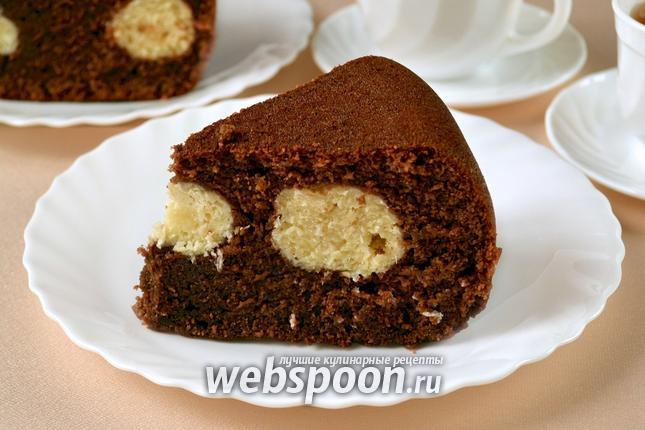 Фото Шоколадный манник в мультиварке