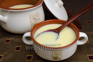 Кукурузная каша на молоке в мультиварке