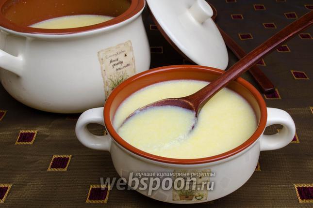 Фото Кукурузная каша на молоке в мультиварке