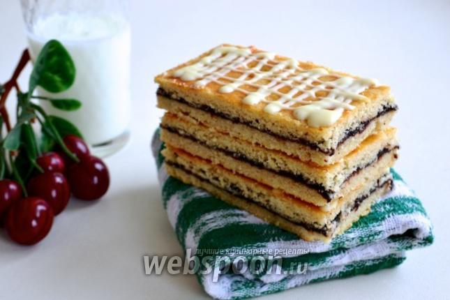 Рецепт Датское печенье Hindbærsnitte