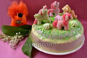 Торт «Маленькие пони»
