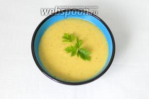 Турецкий суп из чечевицы можно подавать. Afiyet olsun или приятного аппетита!