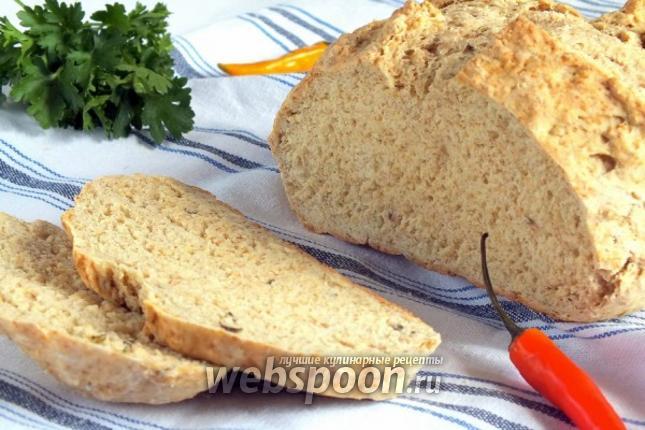 Фото Бездрожжевой хлеб