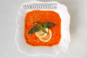 Дайте супу настояться и подавайте с лимоном. Приятного аппетита! Афийет олсун!