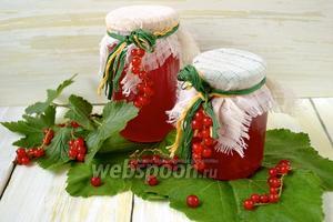 Конфитюр из красной смородины в мультиварке