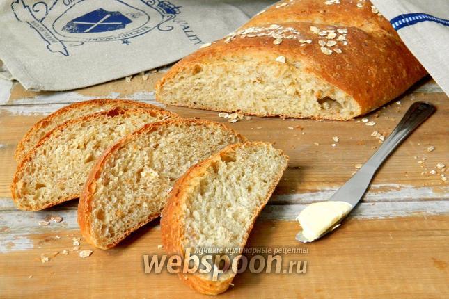 Фото Овсяный хлеб