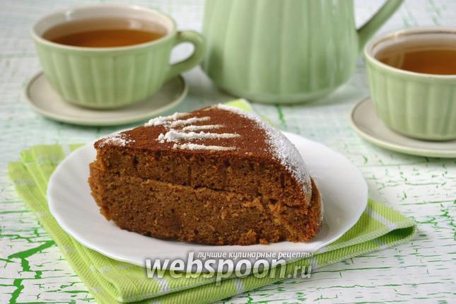 Фото Кукурузный пирог в мультиварке