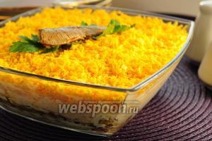 Салат со шпротами «Берта»