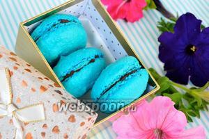 Миндальные пирожные «Макарон»