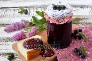 Черноплодная рябина протёртая с сахаром