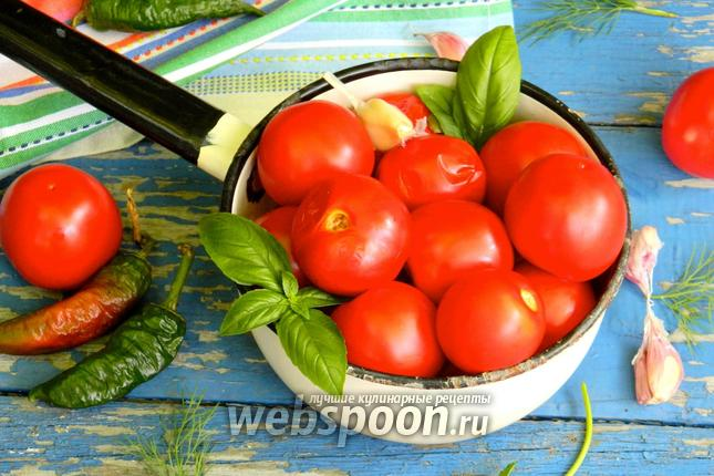 Фото Малосольные помидоры
