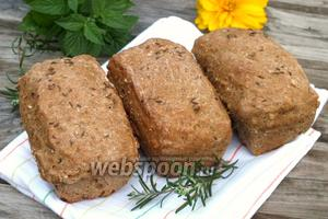 Зерновые булочки на квасе