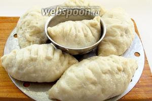 Готовые пянсе выложить на блюдо и подавать с острыми соусами или корейскими салатами. Приятного аппетита!