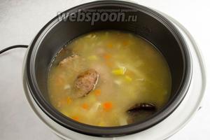 Суп-лапша готов.