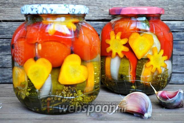 Фото Овощное ассорти на зиму