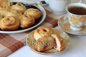 Пирог с конфетами