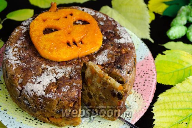 Фото Тыквенный пирог в мультиварке