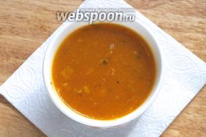 Готовый соус можно подавать как в тёплом, так и в холодном виде. Приятного аппетита!