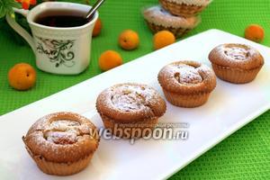 Кексы из пудинга с абрикосами
